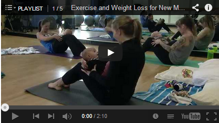Exercise and Weight Loss for New Moms