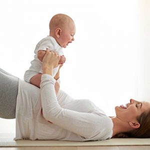 Reader's Digest interviews Kathleen Donahoe about tricks to sneaking in exercise with baby